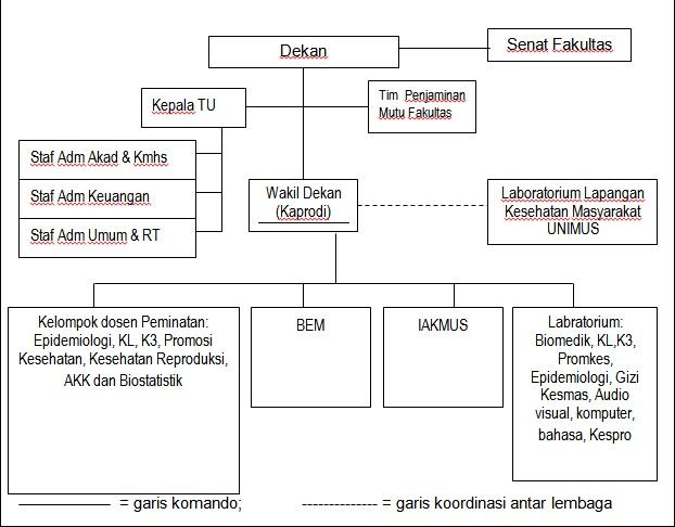 Struktur Organisasi FKM