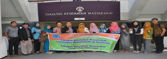 Benchmarking FKM Unimus Semarang ke FKM UI Jakarta